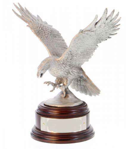 Army Air Corps Eagle, Buffed Pewter
