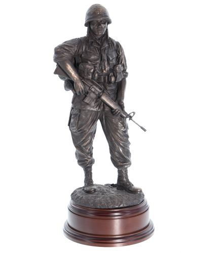 American Army Soldier, Vietnam War Patrol