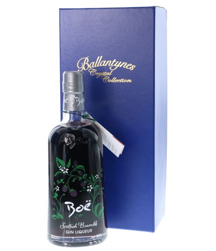 Award winning Gin Liqueur. Scottish Bramble flavoured delicate Scottish gin from the Boë distillery. Its a 50cl bottle and we hand engraved it with a personal design of your choice. We include a blue satin box with all online orders.