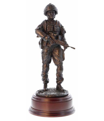 Modern Combat Female Soldier