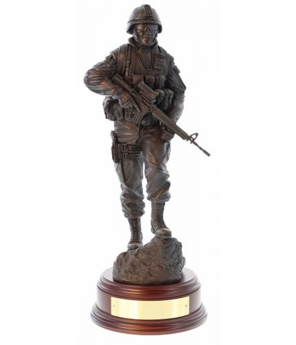 Canadian Infantry Soldier Modern Patrol
