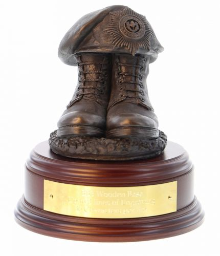 Cheshire Regiment Boots and Beret