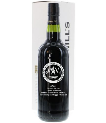 A bottle of Churchills 2014 Late Bottled Vintage Port. Perfect for that special occasion where you need a very personal gift. We sort out all your engraving, including sending you a pre-production proof after you order.