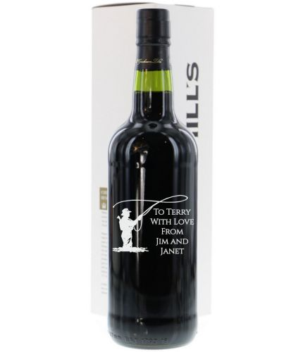 A bottle of Churchills 2006 Crusted Port. Perfect for that special occasion where you need a very personal gift. We sort out all your engraving, including sending you a pre-production proof after you order.