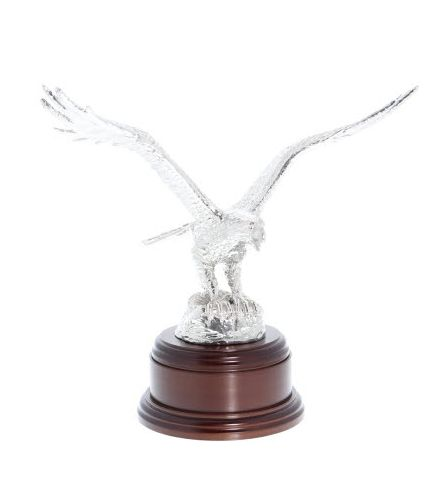Royal Air Force Eagle, Polished Pewter