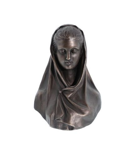 Modesty Sculpture by Giosue Argenti, Cold Cast Bronze