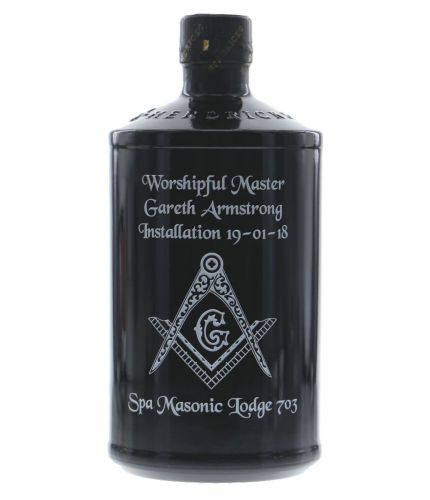 An engraved bottle of Hendricks Gin. We include the design, setup pre-approval and engraving service as part of this product. Hendricks Gin makes an excellent gift idea for weddings, christenings, anniversaries, at Christmas and for a birthday