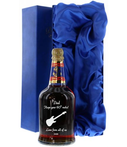 A 70cl Bottles of Pussers British Navy Rum. The price includes all engraving with text and images of your choice. We sort out the engraving after you order by email.