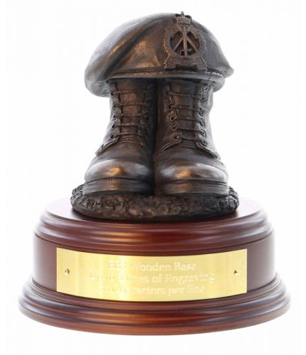 Royal Pioneer Corps Boots and Beret