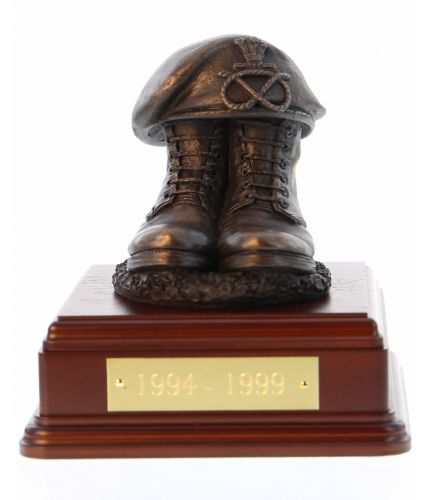 Staffordshire Regiment Boots and Beret