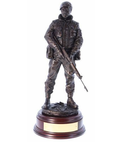 Ulster Defence Regiment on Urban Foot Patrol Northern Ireland
