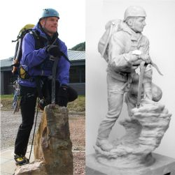 Mountain Rescue Master Sculpture