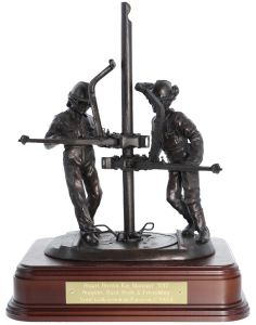 Oil and Gas Rigger Statuette